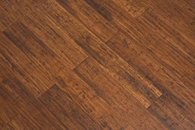 Solid Strandwoven Umber 1/2 in. x 5-5/8 in. x 72-3/4 in. Length Tongue & Groove Bamboo Flooring (16.96 sq. ft./case)