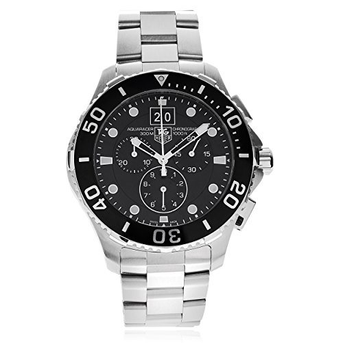 - Tag Heuer Mens CAN1010.BA0821 Aquaracer Link Watch