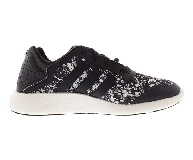 adidas Women's Pure-Boost Q4 Black/White Print Running Shoes M21408 size  7.5: Amazon.co.uk: Shoes & Bags