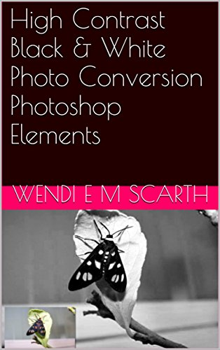 High Contrast Black & White Photo Conversion Photoshop Elements (Photoshop Elements Made Easy by Wendi E M Scarth Book 50)