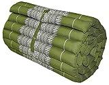 Thai mattress small size (55/180), green, relaxation, beach cushion, pool, meditation, yoga (81813)