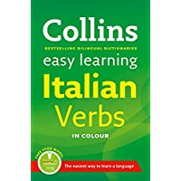 Easy Learning Italian Verbs: with free Verb Wheel (Collins Easy Learning Italian)