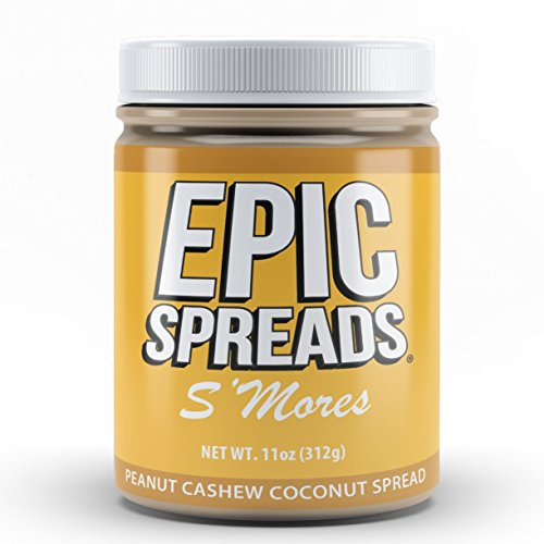 Epic Spreads Nut Butter (S'mores Peanut Cashew Coconut)