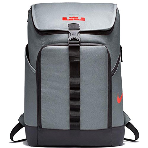 Nike LeBron Max Air Ambassador Backpack Cool Grey/Black by NIKE