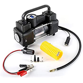 AutoVirazh Portable Air Pump: Car Tire Inflator & Small Compressor Tanks