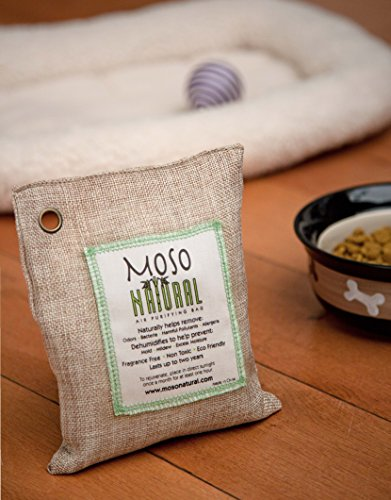 Moso Natural 200g and 500g Air Purifying Bag Deodorizers. Odor Eliminator for Cars, Closets, Bathrooms and Pet Areas. Absorbs and Eliminates Odors Natural Color by Moso Natural (Image #7)