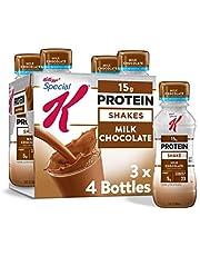 Kellogg's Special K Protein Shakes, Milk Chocolate, Gluten Free, 10 Fl Oz, Pack of 12
