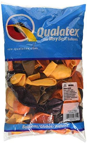 Qualatex 43795 Autumn Assortment Latex Balloons, 11