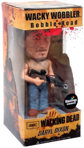 Funko The Walking Dead Exclusive Wacky Wobbler Bobble Head Daryl Dixon ()