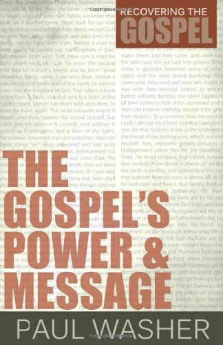 Price comparison product image The Gospel's Power and Message (Recovering the Gospel)