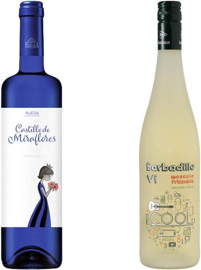 Castillo de Miraflores y Barbadillo VI - Vino Blanco - 2 botellas de 750 ml: Amazon.es: Alimentación y bebidas