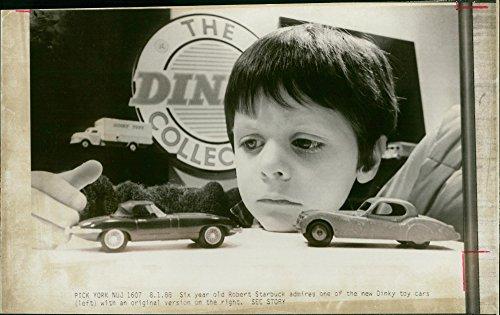 Meccano Dinky Toys (Vintage photo of Dinky toys.)