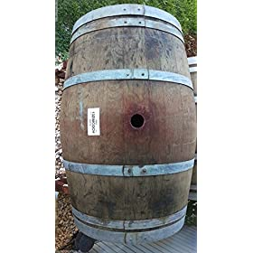 Used Wine Barrel Solid Oak From Napa Valley By Wine Barrel Creations