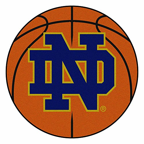 Fighting Irish Basketball Rug (FANMATS NCAA Notre Dame Fighting Irish Nylon Face Basketball Rug)