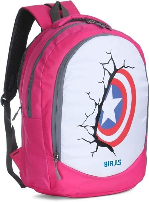 BJS1108L Laptop Backpack Bag  Pink  30 L