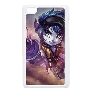 iPod Touch 4 Case White Tristana LOL league of legends P6T6CK