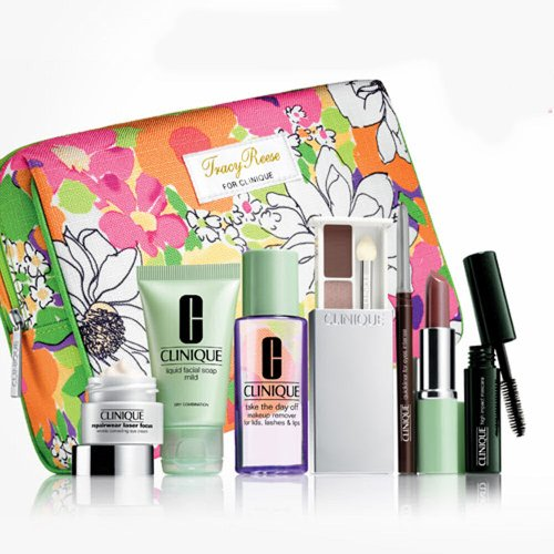 Clinique 8 Piece Gift Set Nordstrom Tracy Reese Spring 2013 - Import It All