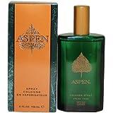 Coty Aspen Cologne Spray for Men, 4 Fluid Ounce