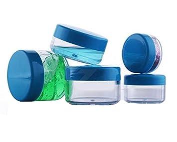 Amazon.com: 6 botellas de viaje con tapa de plástico ...