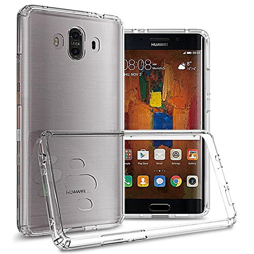 CoverON Hard Slim Fit ClearGuard Series for Huawei Mate 10 Case, Clear