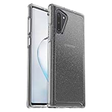 OtterBox Symmetry Clear Series Case for Samsung Galaxy Note10 - Stardust (Silver Flake/Clear)
