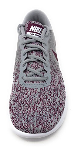 Women's Shoes Nike Pulse Contact white Grey Wolf Running Bordeaux Sunset Flex pHBRdwq