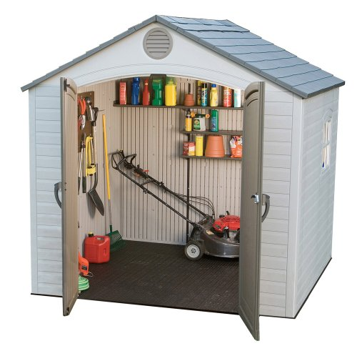Lifetime 6406 8ft x 5ft Outdoor Storage Shed