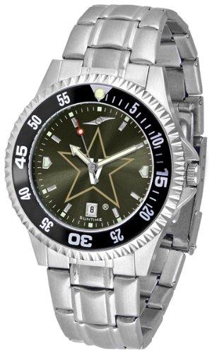 Vanderbilt Commodores Competitor Steel AnoChrome Color Bezel Men's Watch