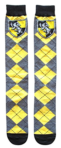 Harry Potter Hufflepuff School Uniform Knee High Socks -