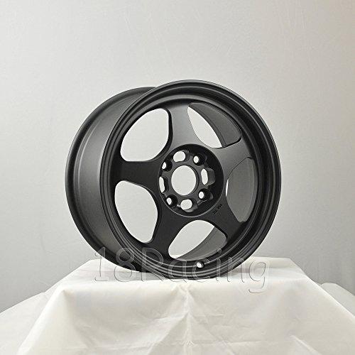 * ROTA SLIPSTREAM WHEELS 15X7 PCD:4X100 OFFSET:40 HB:67.1 FLAT BLACK - Rota Wheel