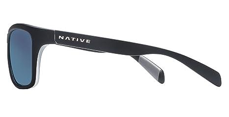 04931c7ca4 Native Eyewear Unisex Penrose Asphalt Crystal Crystal Blue Reflex   Amazon.ca  Sports   Outdoors