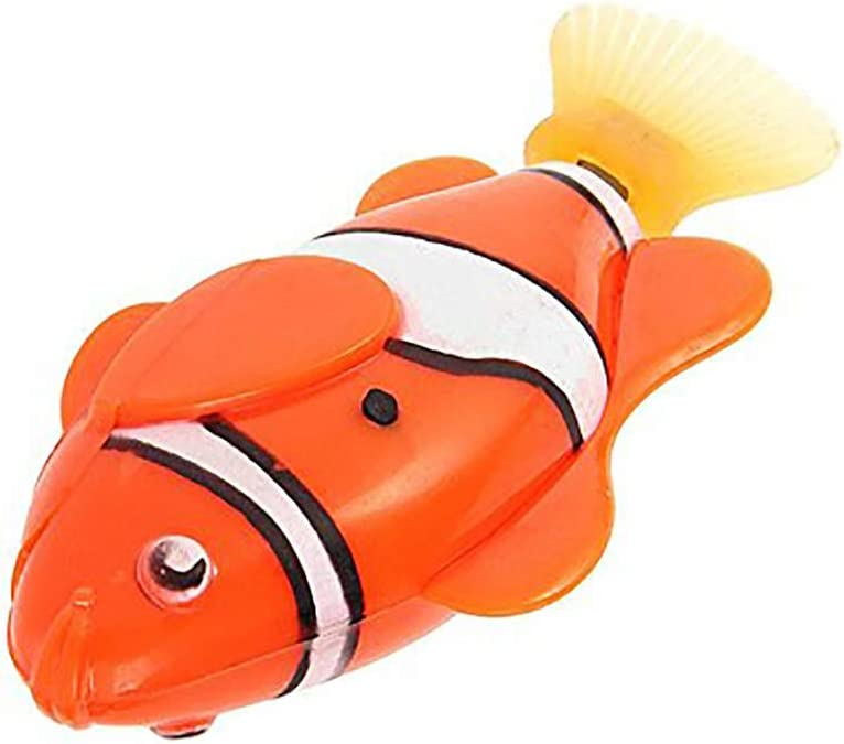 Fisch-Spielzeug batteriebetriebenes Badewannenspielzeug rose Wicemoon Robofish