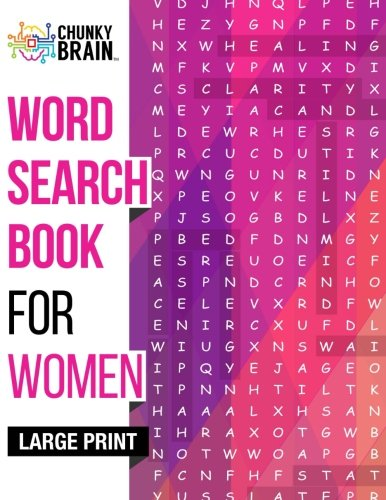 Word Search Book for Women: Unique Large Print Activity Puzz