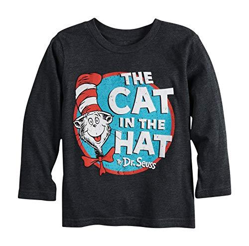 Dr. Seuss Cat in The Hat Little Kids Long Sleeve Shirt (2T-5T) (3T)]()