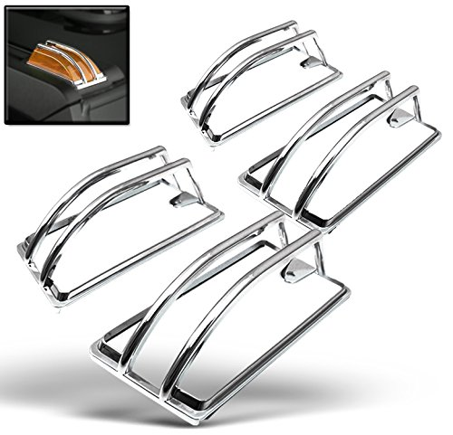 zmautoparts-hummer-h2-upper-roof-cab-light-lamp-cover-moulding-trim-chrome
