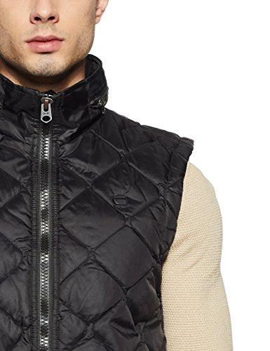 black G Men's Blazer Vest Black Avier star xYBaqPwY8