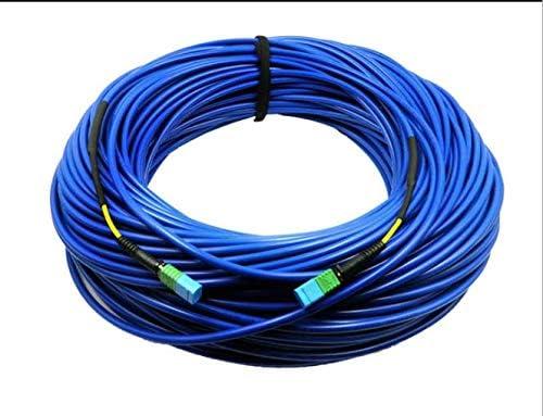 Method A 100m MTP Female to MTP Female Fiber Patch Cable 12 Fiber Singlemode Armored Fiber Optic Patch Cord