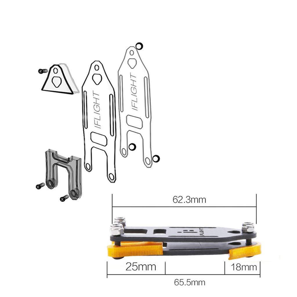 Javpoo Haute Qualit/é ! 2 Pcs Verrouillage de Fixation pour Sac /À Dos Plug-in DIY Boucle Suspendue avec Sangle pour FPV Drone