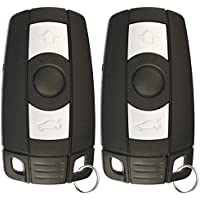 KeylessOption Keyless Entry Remote Control Car Key Fob Replacement for KR55WK49127 (Pack of 2)