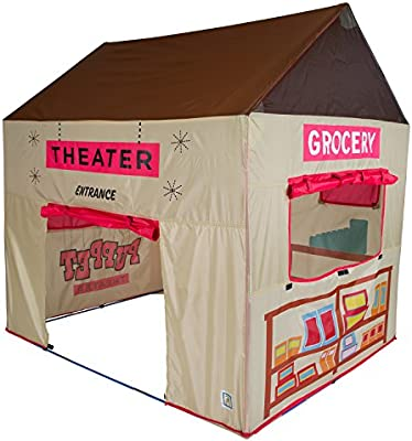 Amazon.com Pacific Play Tents Kids Grocery Store and Puppet Theater House Tent Playhouse - 58  x 48  x 58  Toys u0026 Games  sc 1 st  Amazon.com & Amazon.com: Pacific Play Tents Kids Grocery Store and Puppet Theater ...