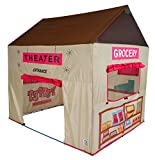 Pacific Play Tents Kids Grocery Store and Puppet Theater House Tent Playhouse - 58'' x 48'' x 58''