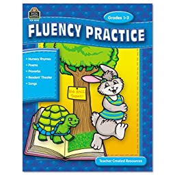 Teacher Created Resources 9810 - Fluency Practice Set, Three Books, Grades 1-8-TCR9810