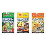 Melissa & Doug On the Go Water Wow! Water-Reveal Activity Pads Set - Vehicles, Animals, Safari