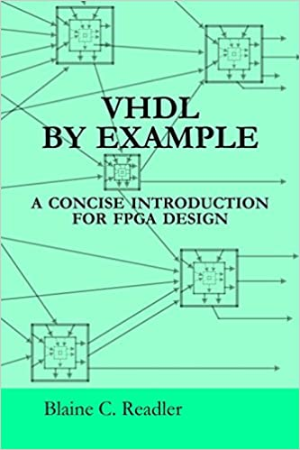 Amazon com: Vhdl By Example (9780983497356): Blaine Readler: Books
