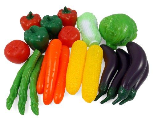 Liberty Imports Sized Vegetables Playset