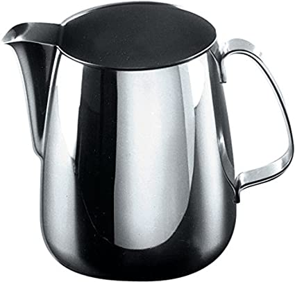 Alessi 103/50 - Jarra de acero inoxidable para leche: Amazon ...