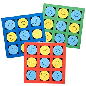 US Toy Smiley Face Tic Tac Toe Games (12)
