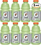 Gatorade Cucumber Lime (Limon Pepino), Light Green, Thirst Quencher Sports Drink, 32oz Bottle (Pack of 8, Total of 256 Oz)
