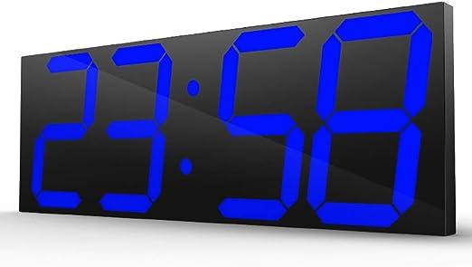 TOPYL Reloj De Pared Digital Led, Moderno Extra Grande Pantalla ...