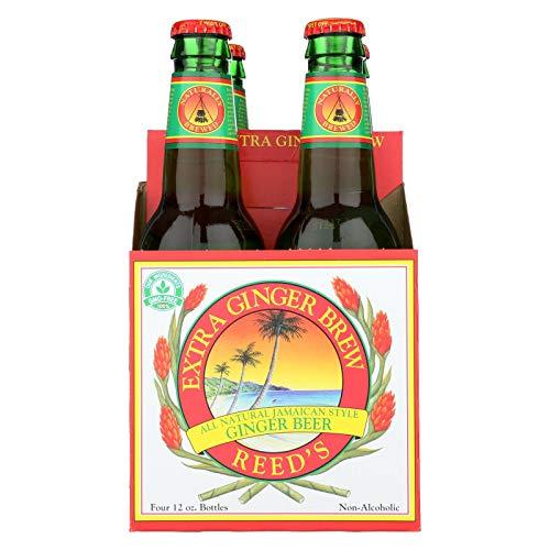 (Reed's Ginger Beer Ginger Brew - Extra - Case of 6 - 12 Fl oz.)